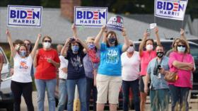 Mujeres de EEUU protestan contra las políticas de Trump