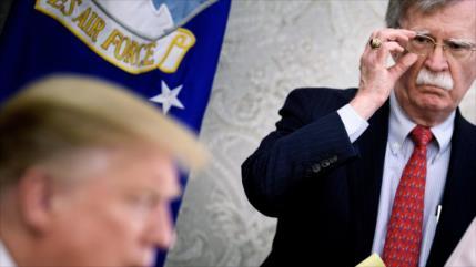 Bolton da por fracasada la estrategia de Trump hacia Irán