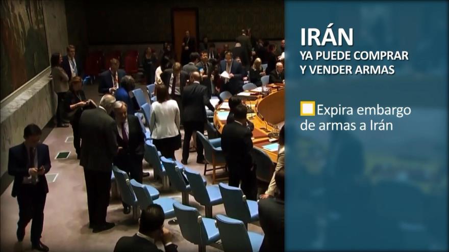 PoliMedios: Irán ya puede comprar y vender armas