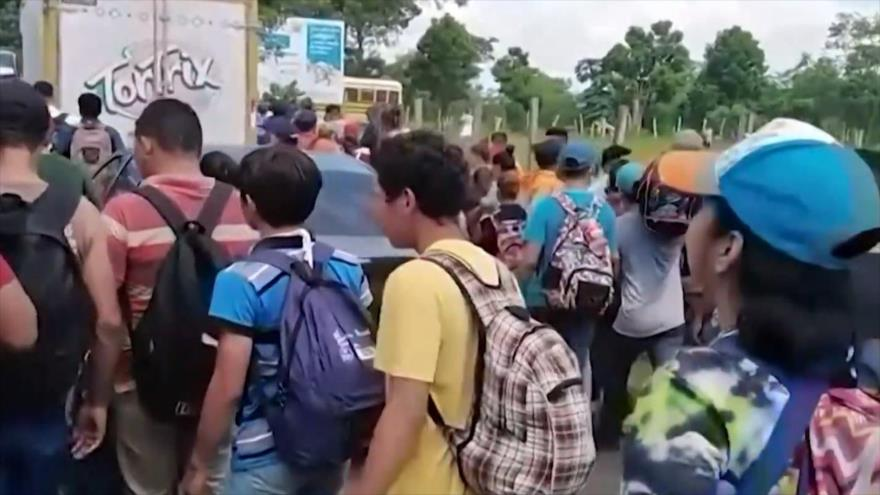 Migrantes siguen huyendo de sus países a pesar de la pandemia | HISPANTV