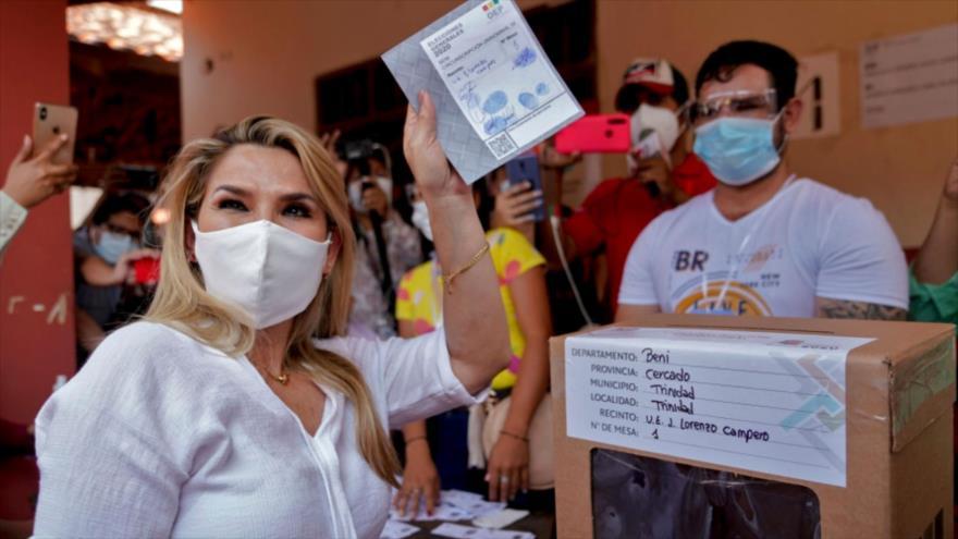 Áñez felicita a candidato del MAS su triunfo en elecciones de Bolivia