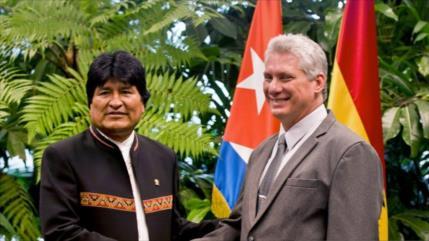 Cuba: MAS recuperó el poder 'usurpado por la oligarquía' en Bolivia