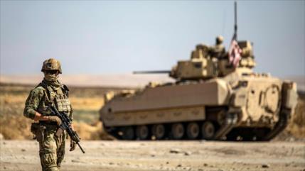 Atacan con bomba un convoy militar de EEUU en zona petrolera siria