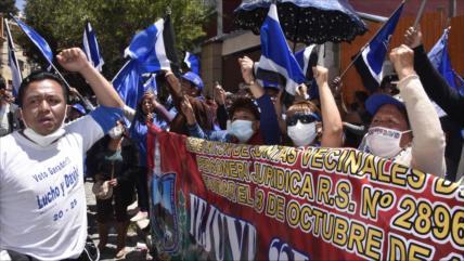"""Correa: Triunfo del MAS reveló el """"fraude"""" de la OEA en 2019"""