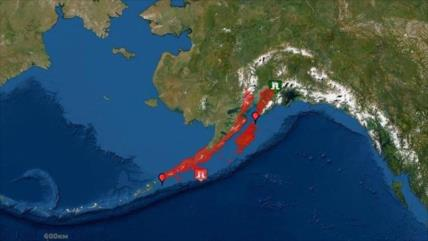 Emiten alerta de tsunami en Alaska tras un terremoto en Pacífico