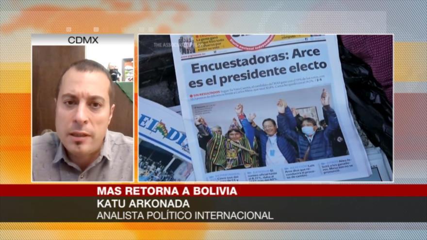 """""""Popularidad de MAS aumentó pese a golpe de Estado en su contra"""""""