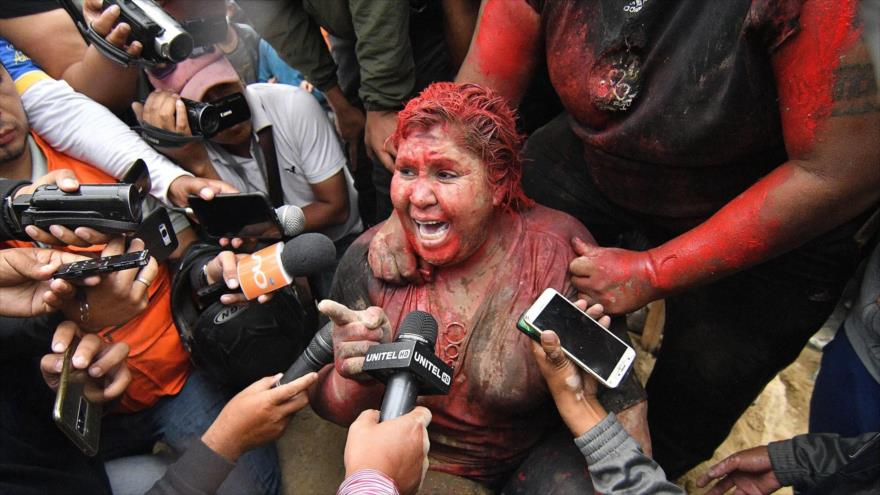 Alcaldesa linchada por golpistas ahora será senadora por el MAS | HISPANTV