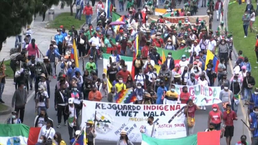 Victoria de Luis Arce. Indígenas en Colombia. Caso Brexit - Boletín: 12:30 - 20/10/2020