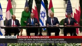 No a normalización con Israel. Elecciones de Bolivia. Guerra fría de EEUU - Boletín: 21:30 - 20/10/2020
