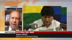 Bigio: Victoria del MAS dará un giro al mapa político de la región