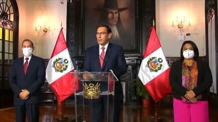 Presentan nuevo pedido de vacancia contra Vizcarra