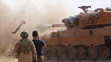 Milicias pro-EEUU chocan con otras pro-Turquía en norte de Siria