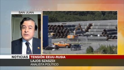 Szaszdi: Sanciones de EEUU buscan el colapso del gasoducto ruso