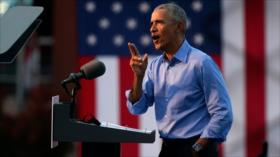 Obama: Trump es incapaz de gobernar a EEUU; votar por Biden