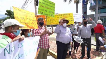 Hondureños luchan por evitar privatización del agua