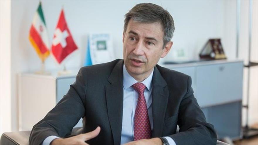 Marcos Lightner, embajador de Suiza en Teherán.
