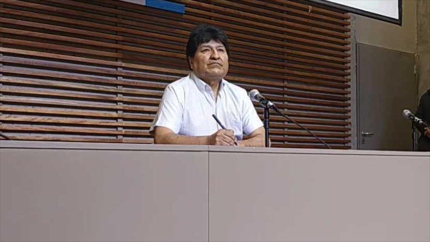Morales: Almagro debe renunciar por tener manos manchadas de sangre | HISPANTV