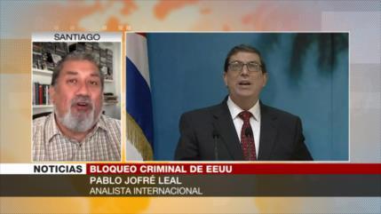 Jofre Leal: EEUU busca generar insatisfacción en Cuba vía bloqueo