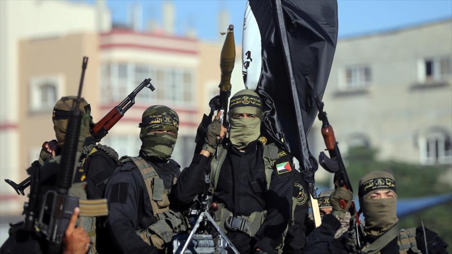 Combatientes de la Yihad Islámica Palestina en Gaza. (Foto: Reuters)