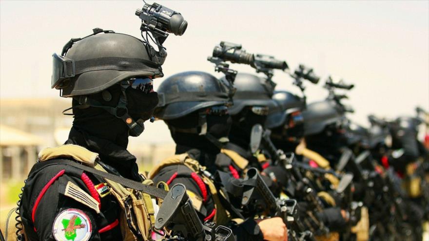Fuerzas del Servicio de LuchaAntiterrorista de Irak.