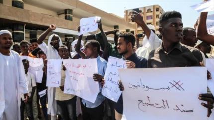 Vídeo: Sudaneses alzan la voz contra la normalización con Israel