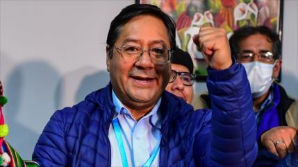 Arce, proclamado presidente de Bolivia, jurará el 8 de noviembre