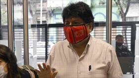 Evo Morales parte de Argentina rumbo a Venezuela