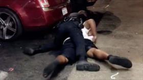 Impactante: Vean cómo la Policía de EEUU mata a tiros a un negro