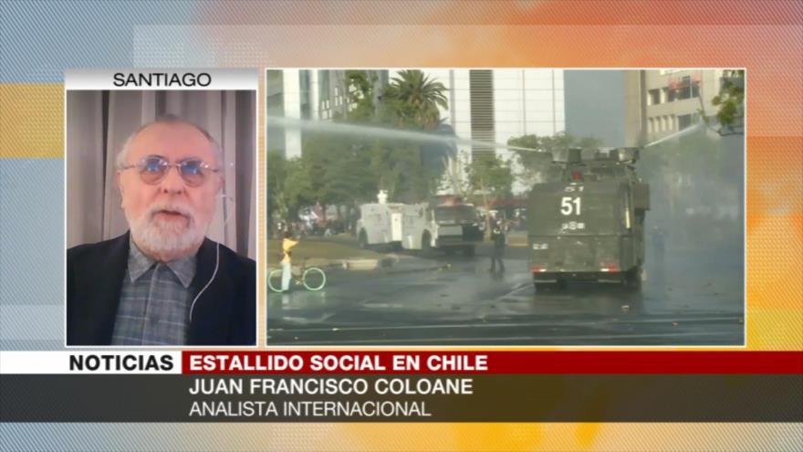 Coloane: Gobierno chileno busca empañar imagen de las protestas