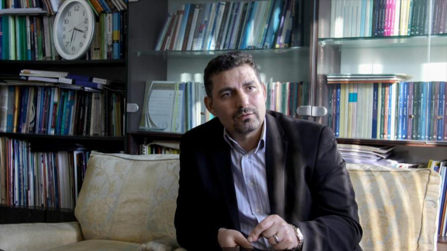 Alireza Miryusefi, el portavoz de la misión iraní ante la Organización de las Naciones Unidas (ONU).