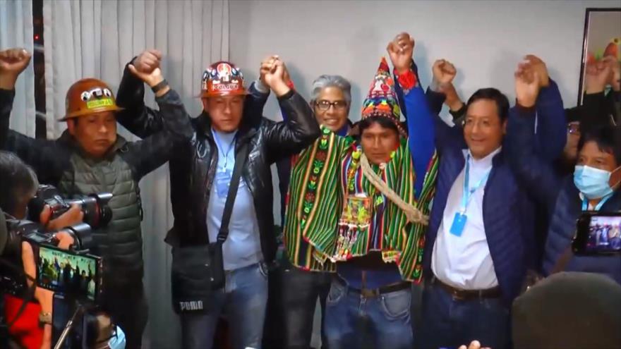 Recuento: Bolivia eligió; Arce ganó