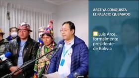 PoliMedios: Arce ya conquista el Palacio Quemado