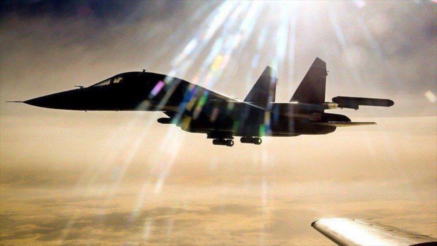 Cazas rusos destruyen puestos clave de Daesh en centro de Siria | HISPANTV