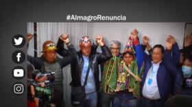 Etiquetaje: Piden renuncia de Almagro por golpe de Estado en Bolivia