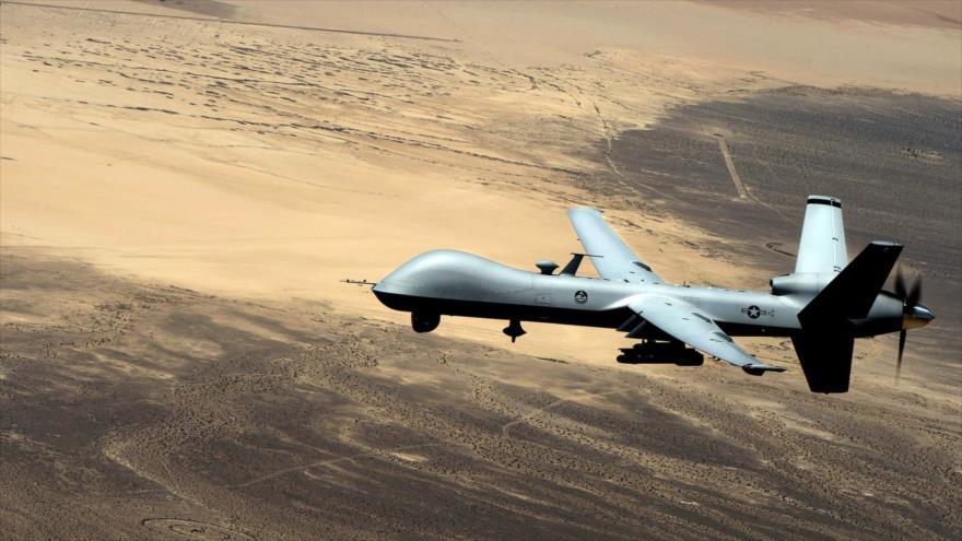 General Atomics MQ-9 Reaper (anteriormente llamado Predator B) vehículo aéreo no tripulado o avión teledirigido de la Fuerza Aérea de EE.UU.