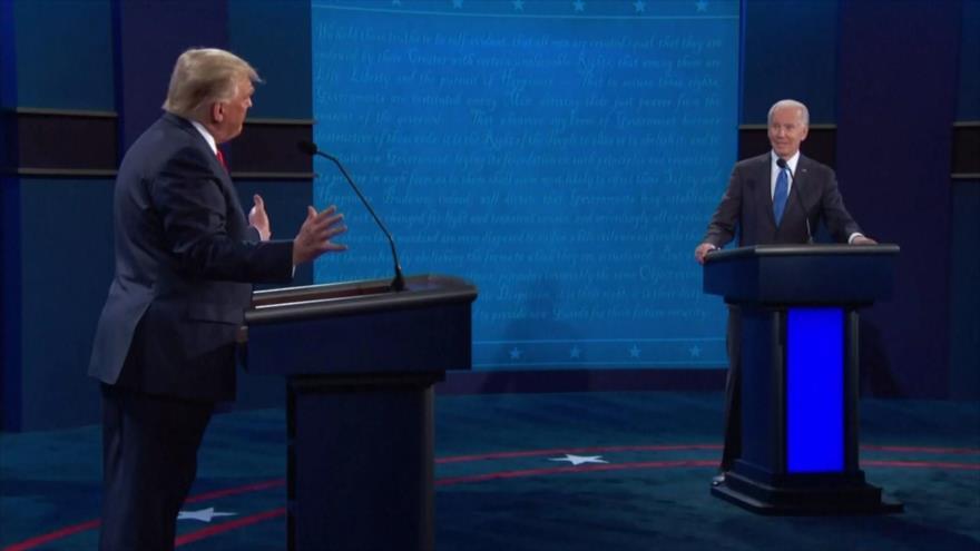 Candidatos presidenciales de EEUU repiten sus ataques verbales