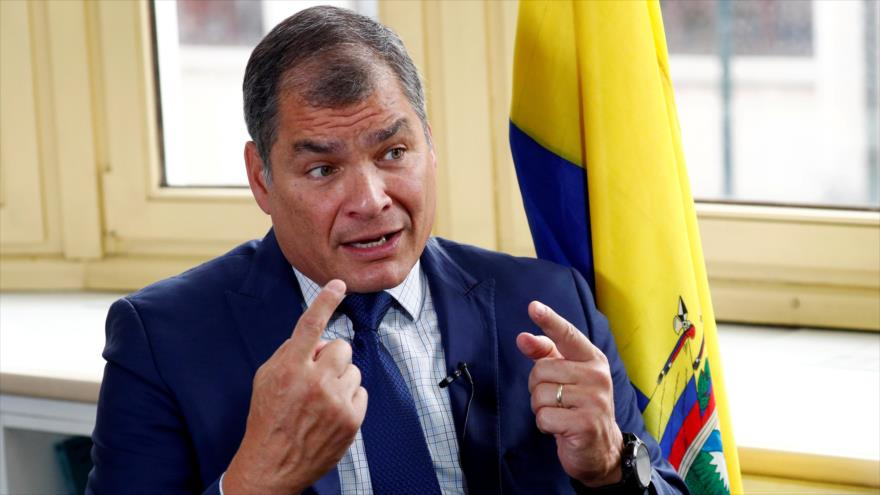 Correa pide unidad para ganar elecciones presidenciales en Ecuador