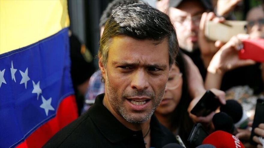 El opositor venezolano y prófugo de la justicia Leopoldo López.
