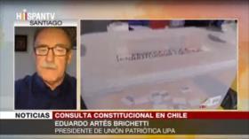 Artés: Constitución de Chile sirve a una minoría oligárquica
