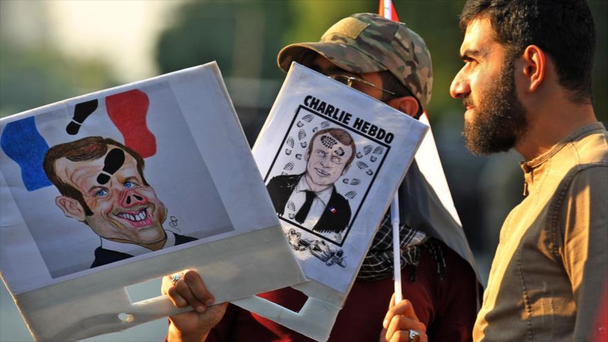 Coalición iraquí: Macron incita al odio con su postura islamófoba | HISPANTV