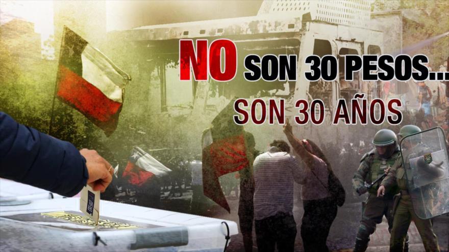 Detrás de la Razón: Gana referéndum para cambiar Constitución chilena producto de Pinochet