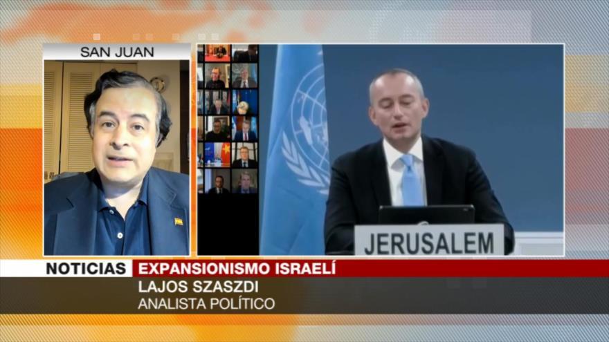Szaszdi: EEUU no frena la expansión israelí por donaciones judías
