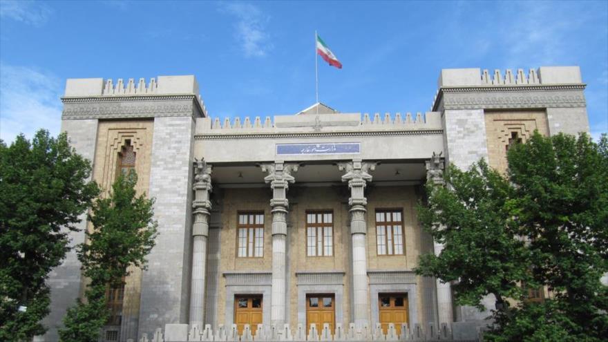 La sede de la Cancillería de Irán en Teherán, la capital.
