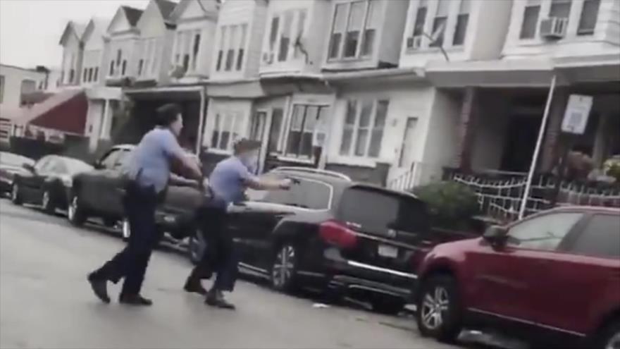 Vídeo: Otro afroamericano, víctima de violencia policial en EEUU