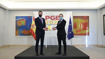 España 'deja atrás etapa neoliberal' con nuevos presupuestos