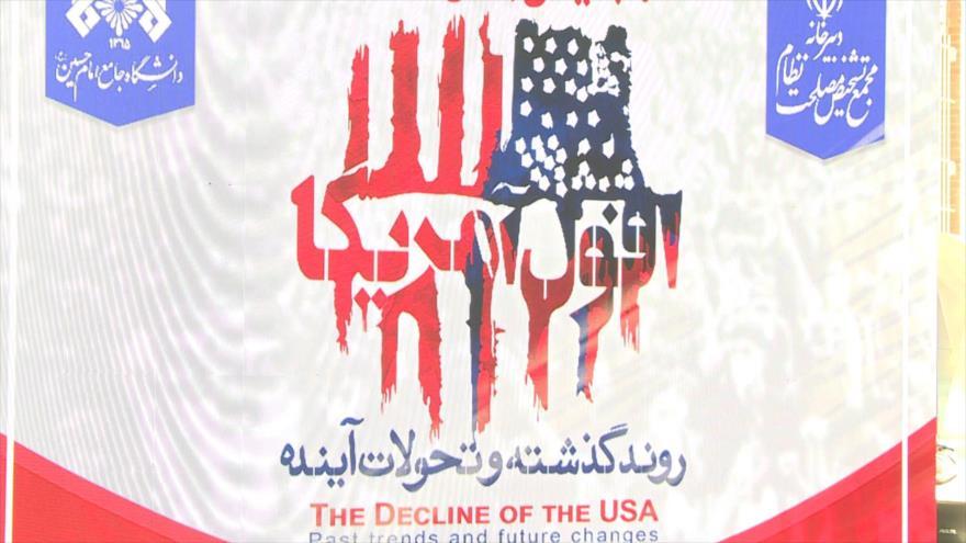 """Irán celebra conferencia internacional sobre """"Decadencia de EEUU"""""""