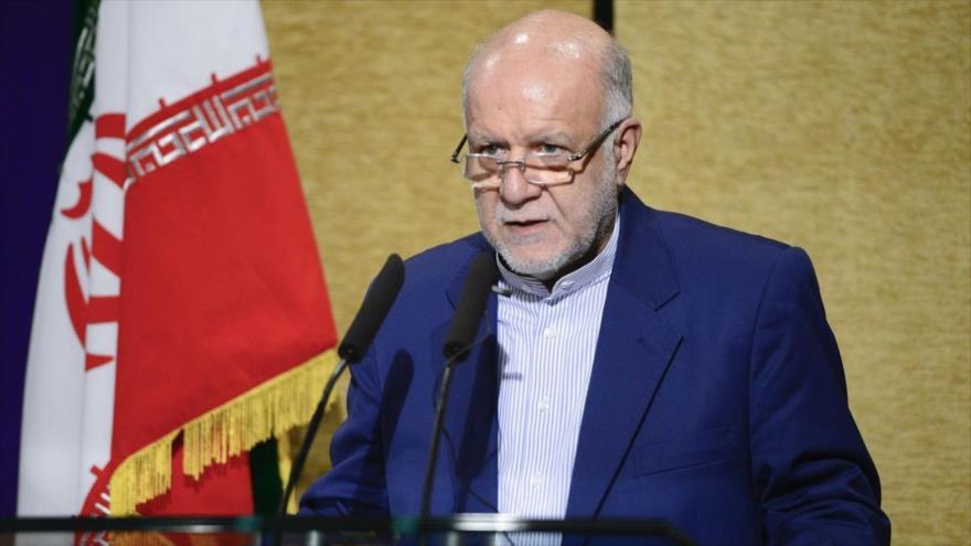 El ministro de Petróleo de Irán, Biyan Namdar Zangane.