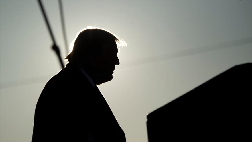 El presidente estadounidense, Donald Trump, en un mitin electoral en el Estado de Wisconsin, 27 de octubre de 2020. (Foto: AFP)