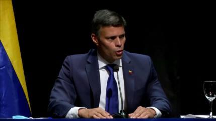 Venezuela llama cobarde a Leopoldo López por cuestionar comicios