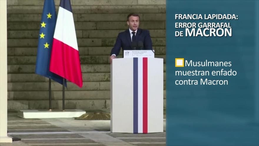 PoliMedios: Francia lapidada: error garrafal de Macron